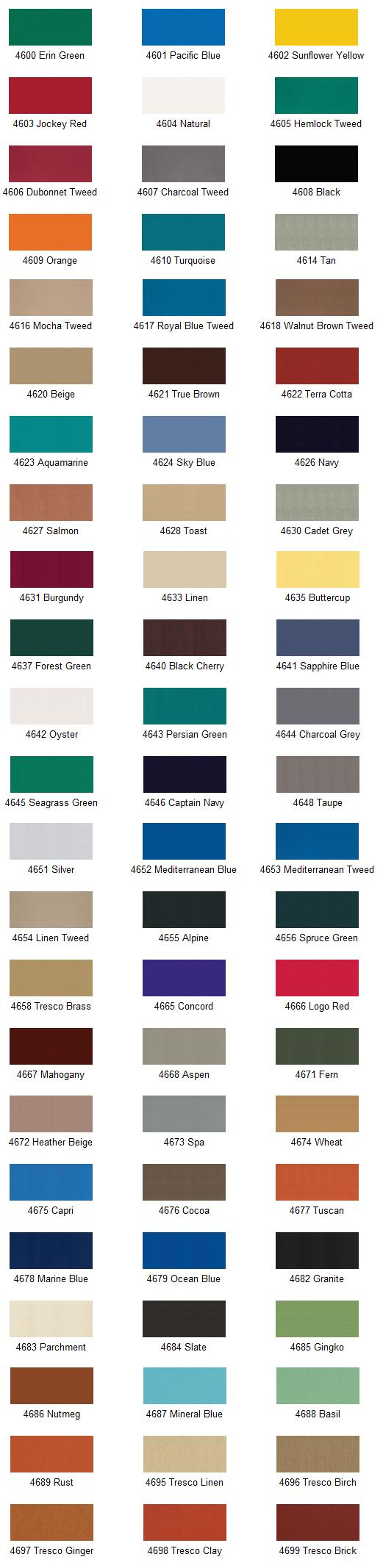 Sunbrella Awning Colors 28 Images Sunbrella Colors 28
